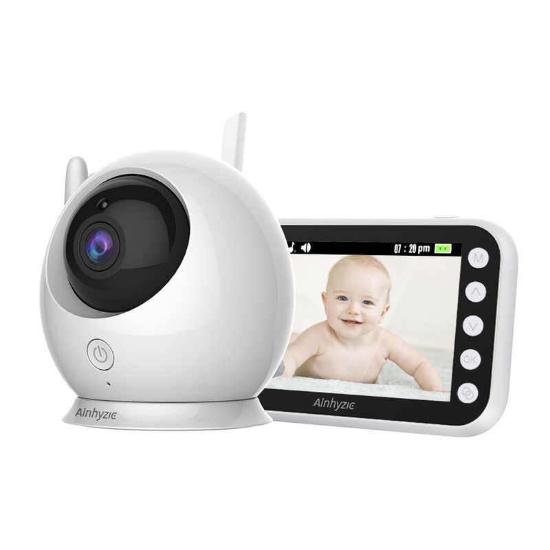 جهاز مراقبة الطفل لاسلكي ملون بكاميرا مراقبة داخلية واي فاي جهاز الأمن المربية الإلكترونية بيبي فون رضع رضع رضاعة