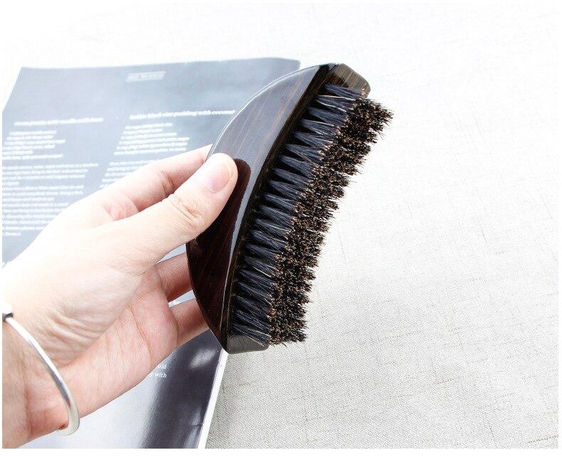 de cabelo de madeira lidar com grande