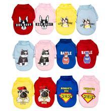 Модный свитер для питомцев, одежда для собак кошек, пальто, куртка, французская одежда для бульдога, одежда для маленьких товары для животных, собак