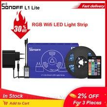 Itead SONOFF L1 Lite 5M RGB EU/ US Wifi LED Light Strip สมาร์ทรีโมทการควบคุม alexa Google Home เต้นรำเพลง