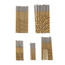 50 Pcs hot -sale HSS Twist Drill Twist Drill Bits Tool Set Metric System drill bit woodworking punte trapano drop shipping 10 pcs hss router bits burr for dremel and rotary engraving woodworking tool drill bit set drill bit forstner drill bits