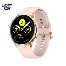 Reloj inteligente Lokmat Time Luxury Amoled para mujer, pantalla completa de 390*390, carga inalámbrica completamente táctil, relojes inteligentes IP68 para Android(China)