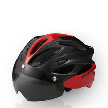 Buy HobbyLane Bicycle Helmet with Wind Mirror Integrated Forming Riding Wind Mirror Magnetically Suction Wind Lens Helmet directly from merchant!