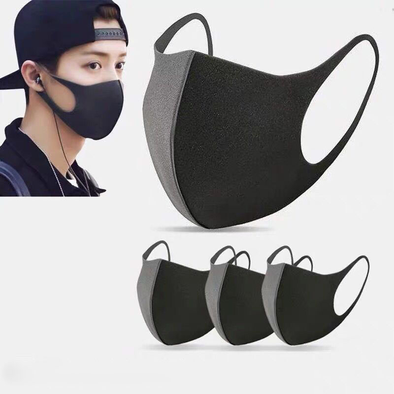 5/10/15 pcs Reusable Face Masks Non Disposable Filter Mouth Mask Washable Cotton Mouth Cover Health For Man And Women