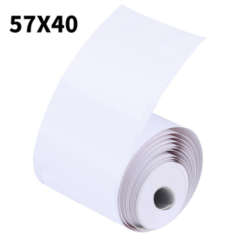 Thermal Paper 57 X 40 Mm No Core Free 1 Rolls Super Long Mobile Bluetooth Cash Register Paper Roll