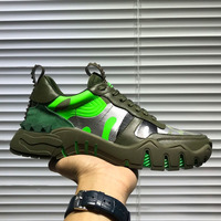 Men's Sneakers Luxury Brand Women Running Shoes Lovers Sports Run Casual Fashion High quality fabric