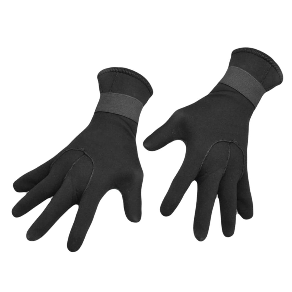 3mm Premium Neoprene Wetsuit Gloves With Adjustable Strap Anti Slip Flexible For Men Women Snorkeling Surfing Winter Swimming