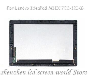 Para Lenovo Yoga 3 11 Yoga3 11 N116HSE-EBC LCD MONTAJE DE digitalizador con pantalla táctil con bisel de Marco