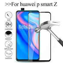 Full cover protective glass For huawei p smart Z 3D Screen protector Film on huawey p smart 2019 psmart Z psmartz tempered Glass(China)