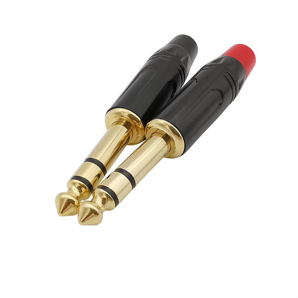 2 шт. 6,35 мм 3 полюс двухканальный стерео аудиоразъём на разъем для микрофона усилителя 6,35 второй припой угловой штыревой соединитель разъем