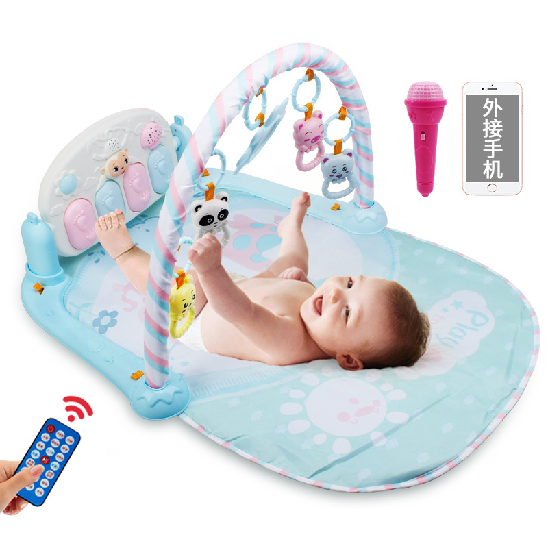 Pedal Educational Gang Qin Jia Infant Fitness Early Education Plastic Months New Baby Music Unisex