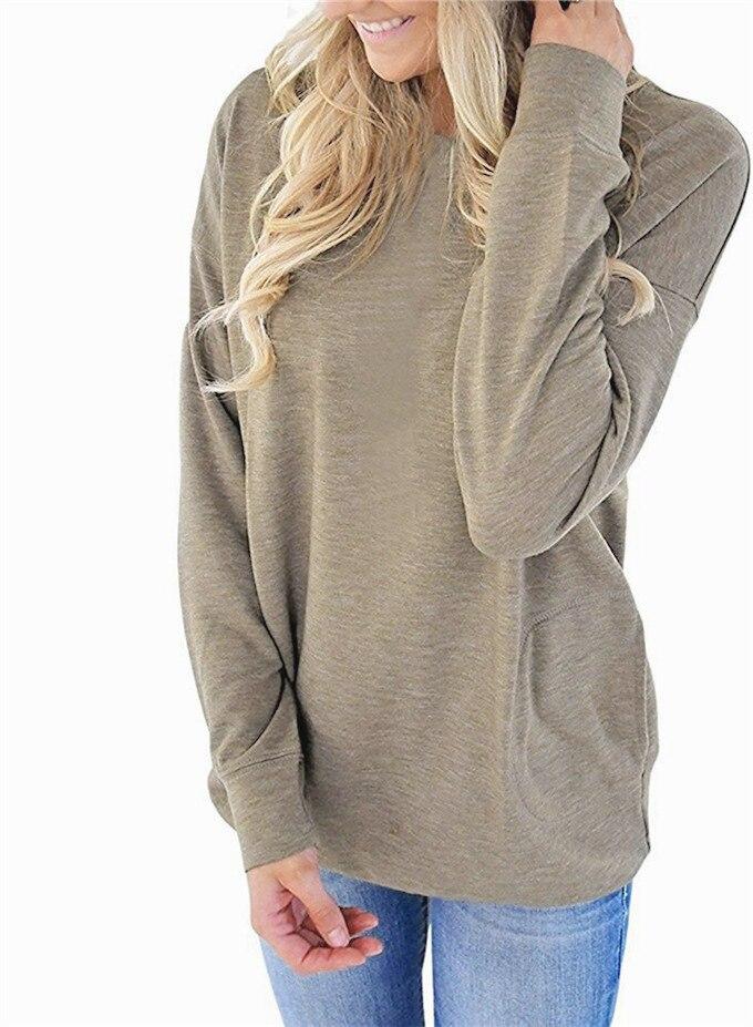 Hoody Sweatshirts Women Hoodies Casual Sweatshirts Tracksuit Clothing Print Long Sleeve Crew Neck Top plus size Pullovers