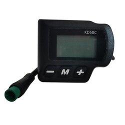 Xe Đạp Điện 24 V 36 V 48 V Thông Minh Dot-Matrix LCD Màn Hình Xe Đạp Điện LCD Xe Đạp Bảng Điều Khiển chống Thấm Nước IP65 KD58C