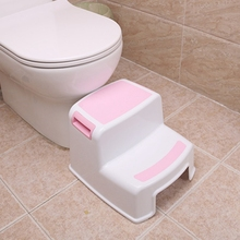 2 Step Stool for Kids   Childrens,Toddler Stool with Slip Resistant Soft Grip for Safety As Bathroom Toilet Potty Training Stool