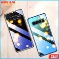 Роскошный прозрачный чехол для телефона Samsung s10 Plus Se S8 S9 аксессуары смартфонов на Galaxy S 8 9 10 задняя крышка
