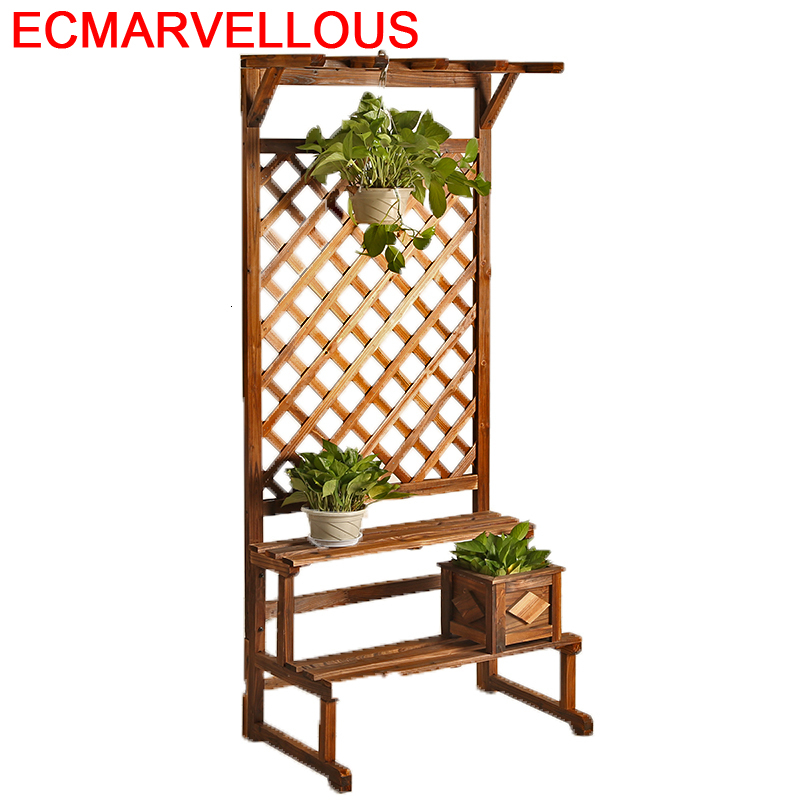 Repisa Para Estanteria Plantas Plantenstandaard Garden Shelves For Balcony Shelf Outdoor Flower Stojak Na Kwiaty Plant Stand
