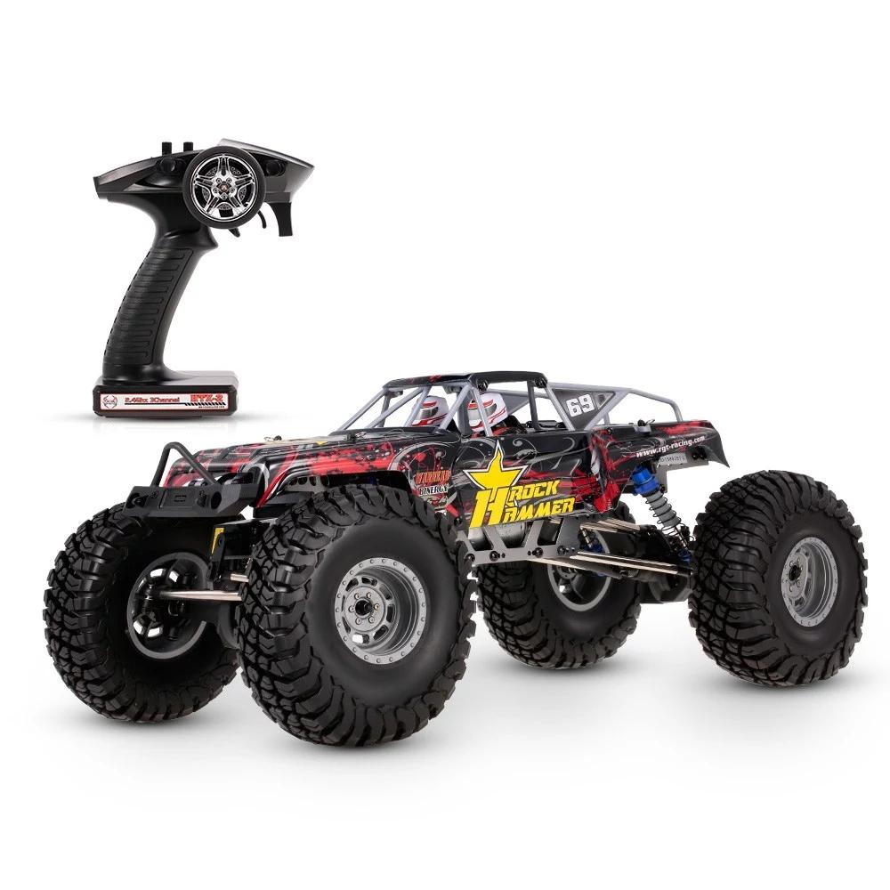 RCtown RGT 18000 1/10 2.4GHz 4WD Waterproof Racing RC Car Off-road Rock Crawler RTC RC Toy