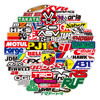 303PCS Racing Car Stickers Car Styling JDM Waterproof Sticker to DIY Motocross Racing Helmet Skateboard Bicycle Laptop Luggage review