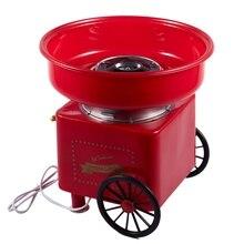 Горячая Бытовая Мини Diy Сладкая ватная машина для конфет Электрический Ретро прибор для изготовления сахара корзина хлопок машина для конфет Коммерческая нить машина