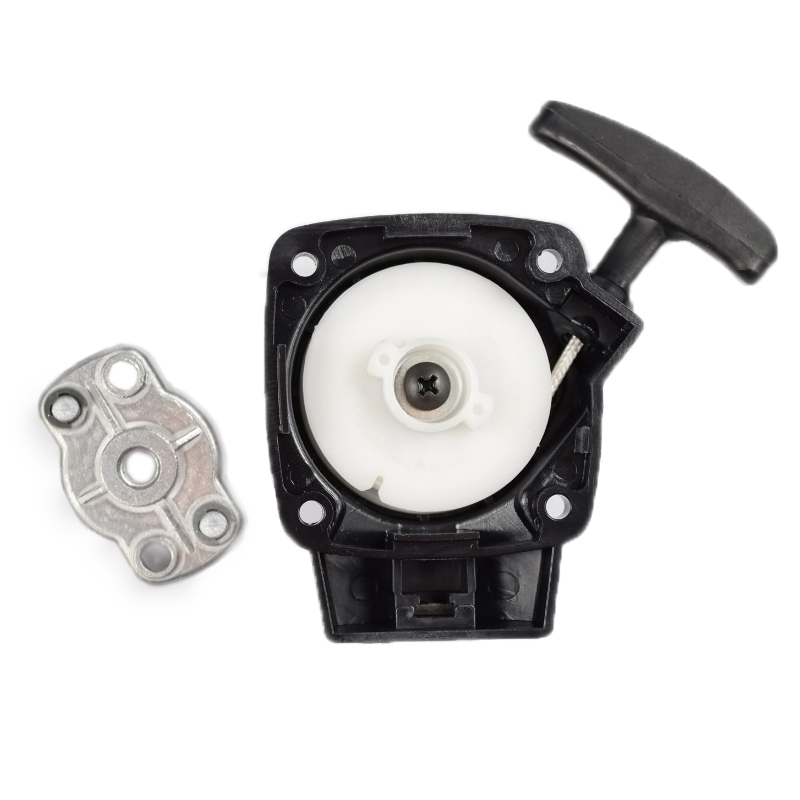 26CC 1E34F Brush Cutter Grass Hedge Trimmer Starter With Pulley Replacement For Mitsubish Cg260 BC260