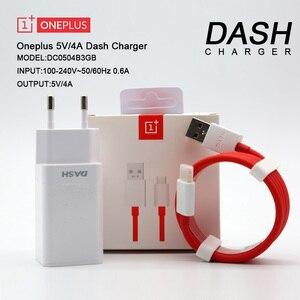 Оригинальное зарядное устройство ONEPLUS 6T для приборной панели европейского стандарта, 5 В/4 а, быстрая зарядка, 1 м, USB 1,5 м, настенный Кабель-ада...