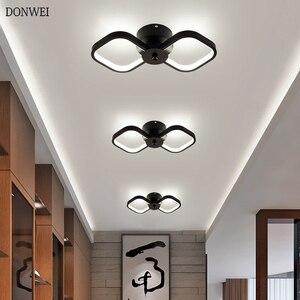 Современный скандинавский светодиодный потолочный светильник 18 Вт для гостиной, спальни, коридора, кухни, ультратонкий потолочный светиль...