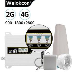 Image 1 - GSM 2G 3G 4G Repeater 900 1800 2600 LTE B8 B3 B7 Tế Bào Tín Hiệu 4G tăng Cường Tín Hiệu 3G UMTS 900 Lặp Tín Hiệu