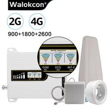 GSM 2g 3g 4g משחזר 900 1800 2600 LTE B8 B3 B7 סלולארי אות מגבר 4g מגבר אות 3G UMTS 900 נייד איתותים משחזר