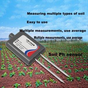 316L moduł czujnika PH gleby test 0-5V RS485 PH nadajnik detektor czujnik gleby miernik ph tester gleby dla PH 3-9PH