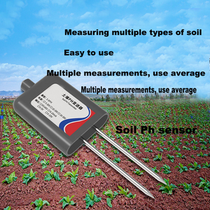 Sensor do verificador do solo do medidor de ph do sensor do solo do detector do transmissor do ph do sensor 0-5 v rs485 do teste do ph do solo 316l para o ph 3-9ph