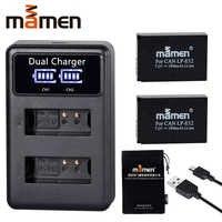 1900mAh LP-E12 Rechargeable LPE12 LP E12 batterie d'appareil photo numérique + LCD chargeur USB pour Canon 100D Kiss X7 rebelle SL1 M10 M50 DSLR