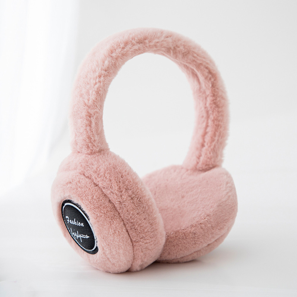 Unisex Bluetooth Listening Music Earmuff Ear Protectors Smart Wearing Earmuffs  Muffs Earlap Glitter Sequin Earmuffs Headband