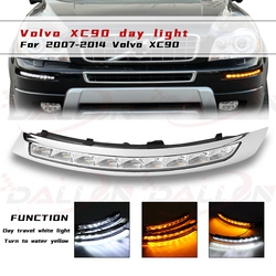 2PCS For VOLVO XC90 2007 2008 2009 2010 2011 2012 2013 Daylight Daytime driving Running Lights turn light fog light