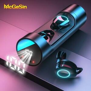 Image 1 - X8 TWS אלחוטי Bluetooth אוזניות סטריאו אוזניות IPX6 עמיד למים מיני ספורט Earbud Hifi קול מגע בקרת אוזניות עם מיקרופון
