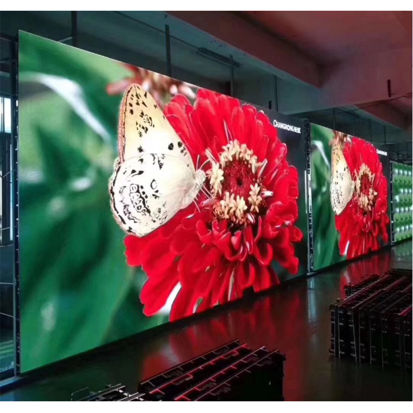 77pcs 64x32dots RGB HD P5 Indoor Led Module With Power Supply Controller High Quality Module Full Color Led Display Screen