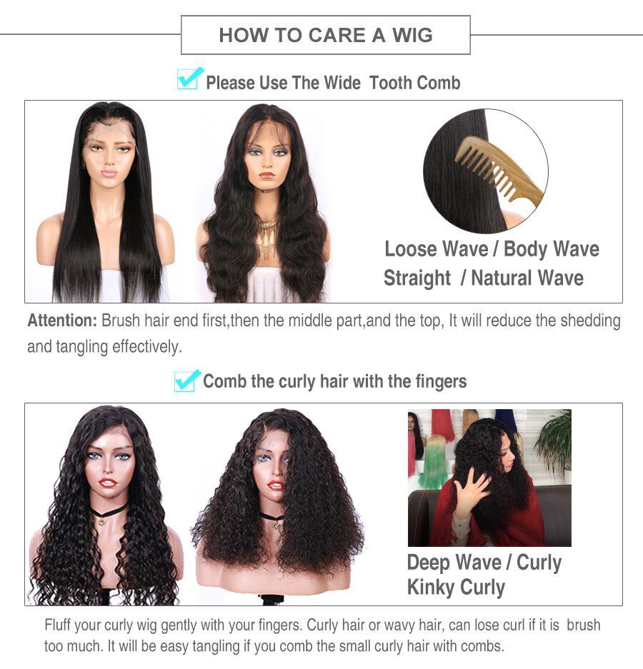 para preto mulheres pré arrancadas perucas de renda transparente