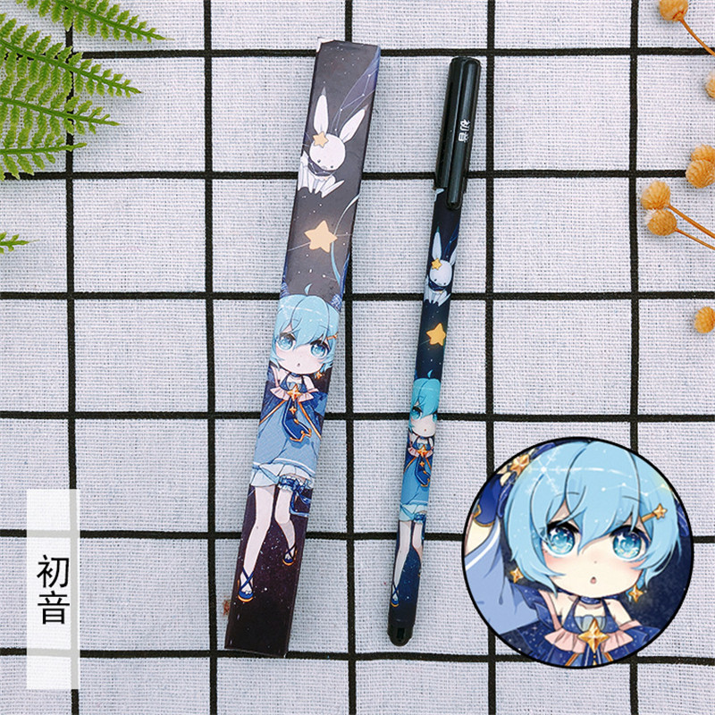 anime-hatsune-miku-font-b-vocaloid-b-font-gel-pens-05-black-refill-pens-cosplay-student-stationery-sign-pen-school-office-writing-supplies