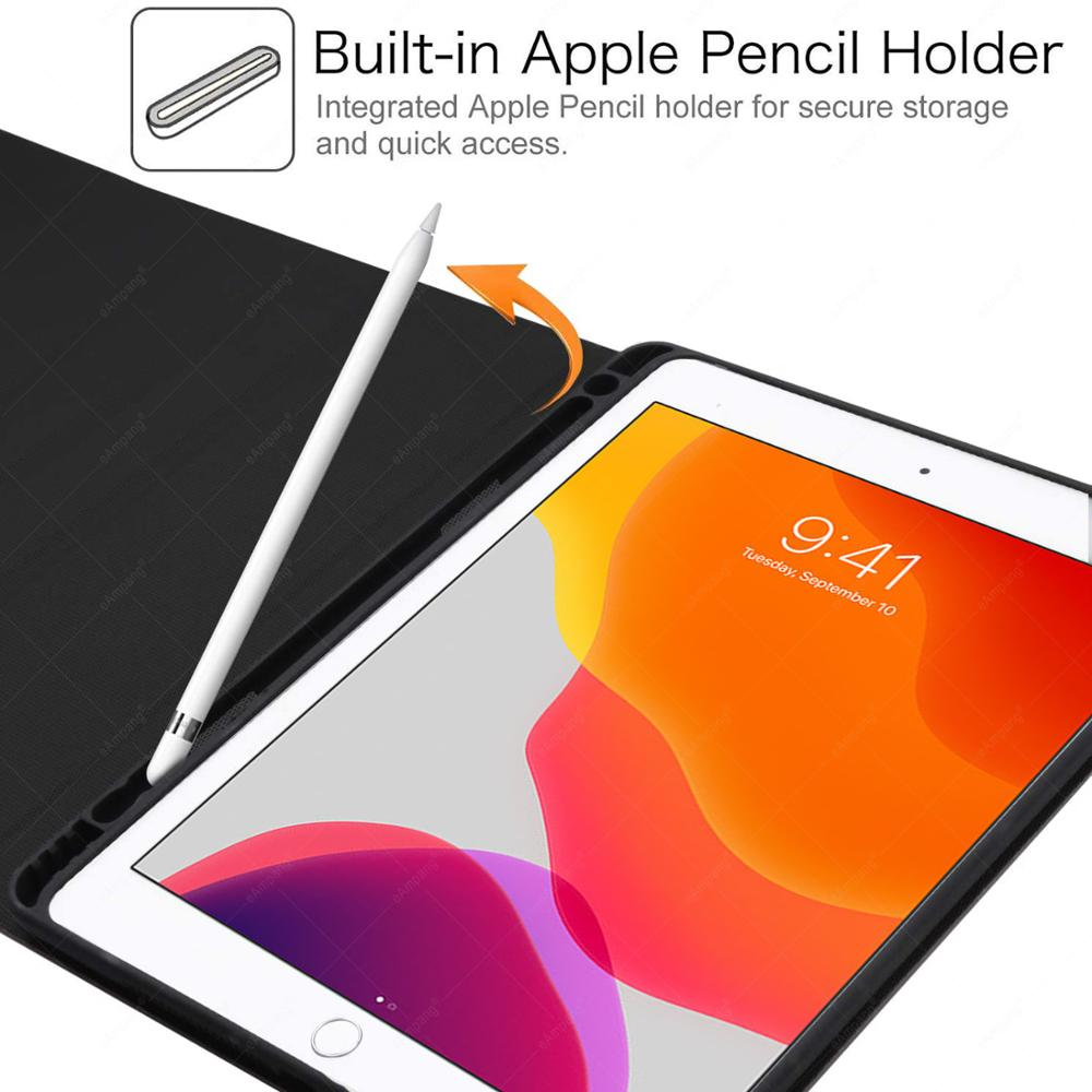 For iPad 7th 8th Generation 10 2 2019 A2200 A2198 A2232 Case with Backlit Touchpad Keyboard