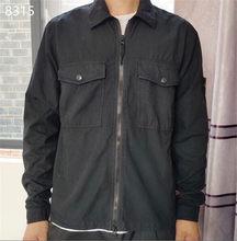 202 kazak erkekler rahat örme yumuşak pamuk o-boyun kazak kazak erkek sonbahar yeni moda çizgili kazak ceket erkek