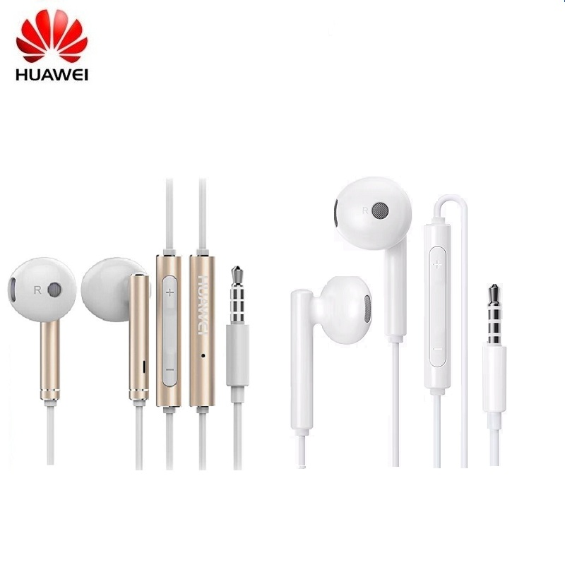Huawei originais Honra AM115 AM116 Fone de Ouvido com Controle de 3.5 milímetros na Orelha Auriculares Fone De Ouvido Com Fio para Huawei P10 P9 P8 honra 8 telefone
