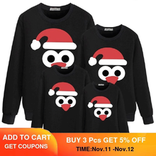 Family Matching Snowman T-Shirt-Set Outfits Costume Pajamas Christmas Baby Kids Romper
