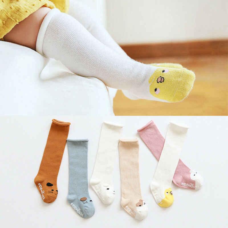 Весенне осенние длинные носки унисекс для маленьких мальчиков модные детские