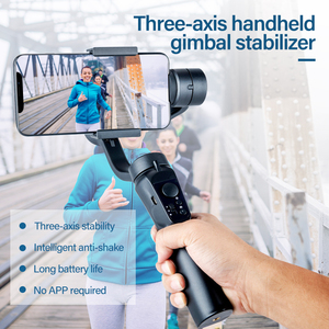 3-Axis Handheld Gimbal Stabilizer Universal Smart Phone Selfie Stick Tripod Bluetooth Connection For Gopro Camera iPhone Samsung