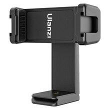 Ulanzi ST 22 אנכי ירי טלפון הר קליפ מחזיק 360 סיבוב Smartphone Vlog מתאם עם קר נעל עבור LED אור מיקרופון