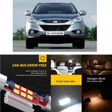 LED Interior Car Lights For Hyundai ix35 lm el elh ix55 off road loniq hatchback 1.6 car accessories lamp bulb error free