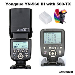YongNuo YN-560 III Flash Speedlite with YN-560TX  Wirelss Transmitter for Canon Camera