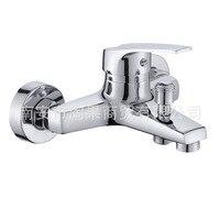 Tao guo Torneira Do Chuveiro Torneira Da Banheira Do Banheiro Escondido Triplo Interruptor Chuveiro Válvula de Mistura de Água Fria e Quente|  -