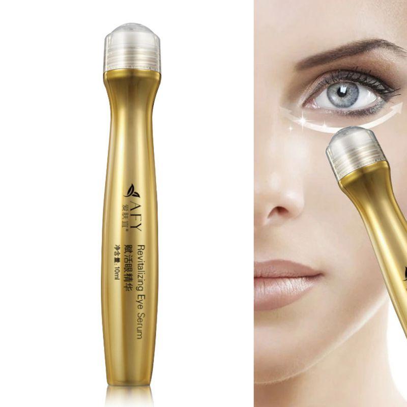 24K Golden Collagen Eye Cream Correcting Dark Wrinkle Firming Anti-Aging Women Lady Beauty Face Skin Care Product