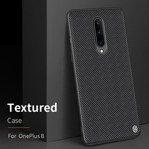 Image 2 - For OnePlus 8 Case NILLKIN Textured Nylon Fiber Case Thin and Light protector Back Cover For OnePlus 8 Pro Case