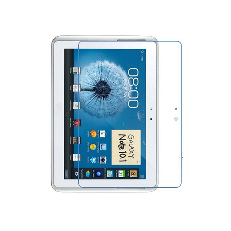 1pc Explosion-Proof Toughened Tempered Pet Screen Protector Cover Guards For Samsung Galaxy Tab 10.1 Tablet N8000